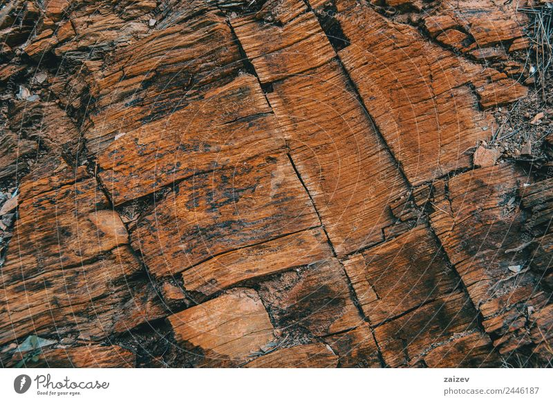 Smooth brown stone texture Design Wallpaper Environment Nature Sand Hill Rock Stone Concrete Rust Old Movement Dark Natural Strong Yellow Black wall Material