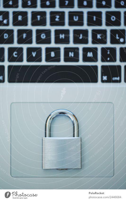 Art Esthetic Closed Safety Keyboard Notebook Lock Data Data storage Data protection Security force Backup Encrypted Data transfer Data bank