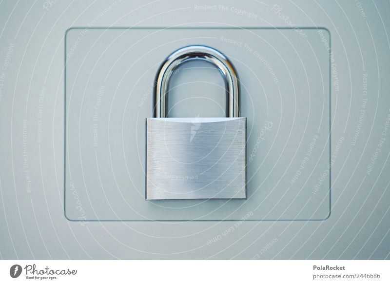 #A# Privacy Policy Art Esthetic Lock Safety Security force Preventative detention Security check Closed Silver Strongbox Data Data protection Data storage