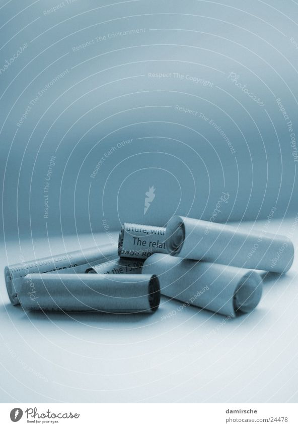 Paper Newspaper Magazine Detached Duplex