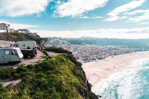 Roadtrip Through Portugal Vacation & Travel Tourism Trip Adventure Freedom Camping Summer Summer vacation Beach Ocean Waves Landscape Earth Water Sunlight