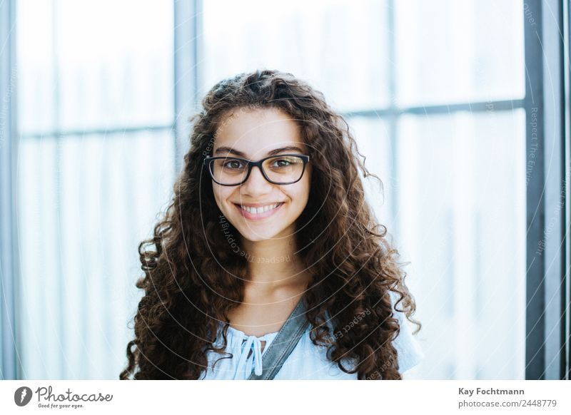 Young smiling Brazilian woman with curly hair Lifestyle Elegant Style Joy Happy Beautiful Hair and hairstyles Well-being Contentment Flirt