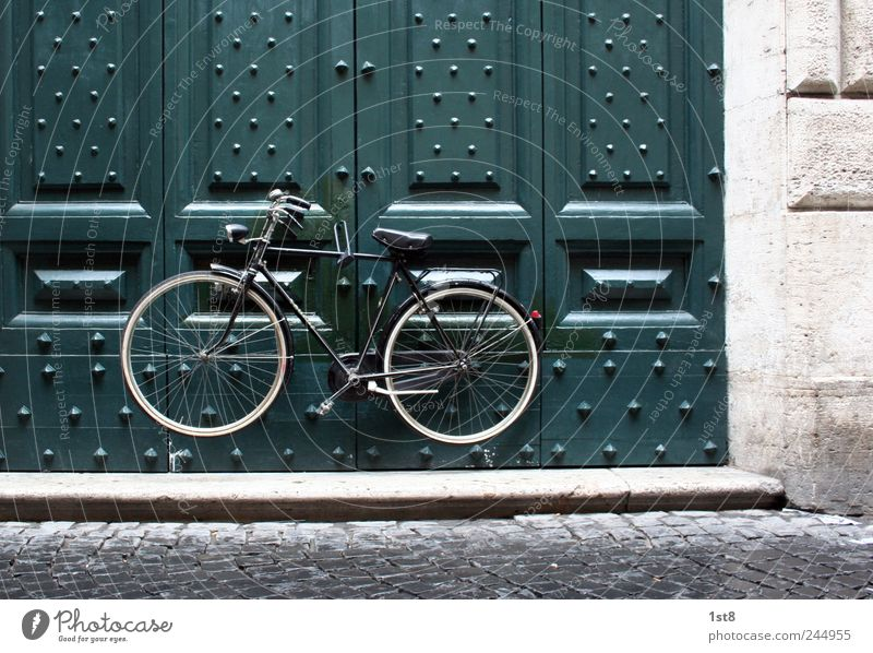 Green Wall (building) Architecture Building Wall (barrier) Exceptional Think Facade Transport Door Bicycle Authentic Observe Safety Driving Manmade structures
