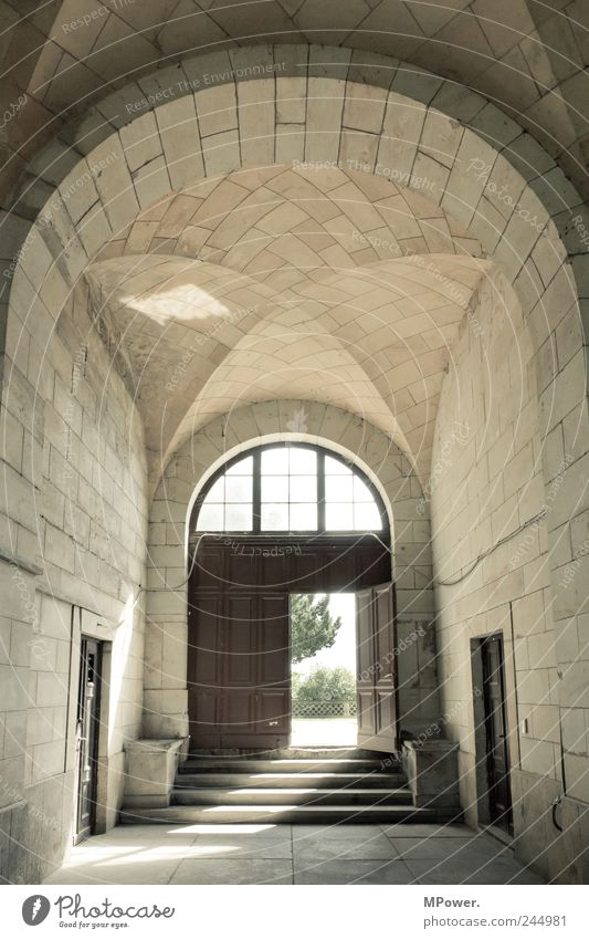 exit House (Residential Structure) Castle Gate Architecture Wall (barrier) Wall (building) Stairs Dream Light (Natural Phenomenon) Sandstone Door Hall Open
