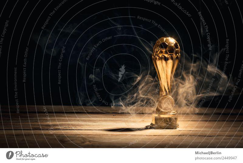 Sports Success Gold Soccer Fire Hot Smoke Ball Sportsperson Cup (trophy) American Football Ball sports Master
