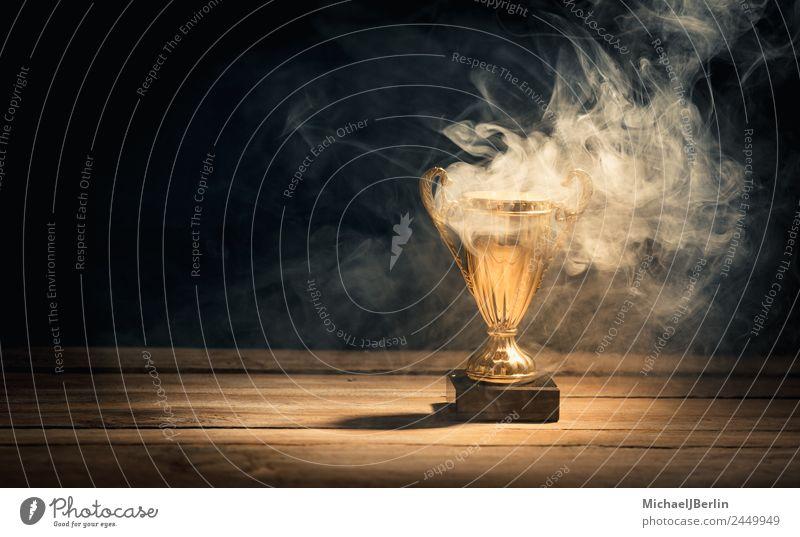 Sports Gold Success Blaze Hot Smoke Burn Cup (trophy) Sieg Master