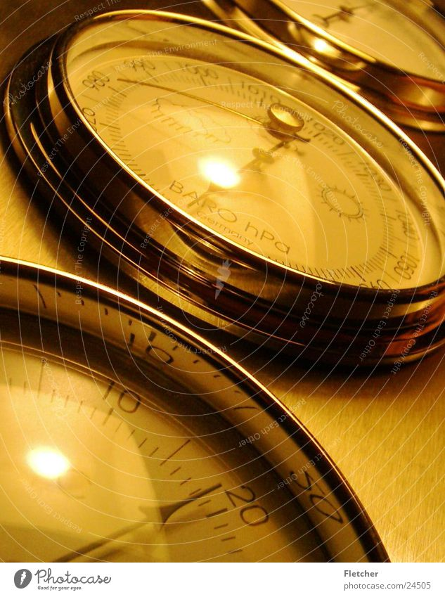 barometer Barometer Lifestyle Living or residing decorative living Weather Rain Sun Clock hand