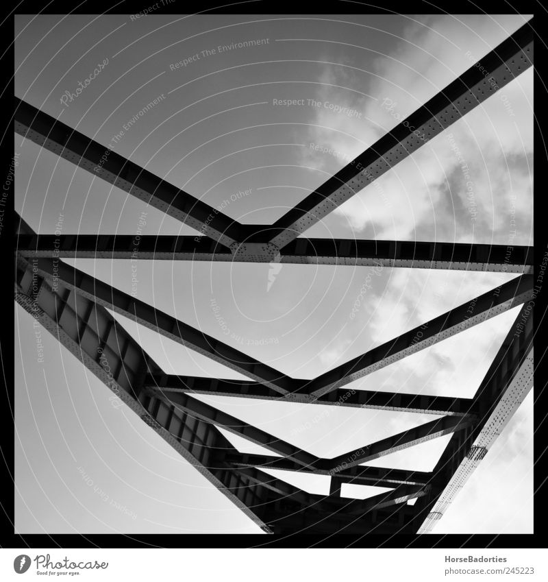 Germany Arrangement Change Industrial Photography Monument Museum The Ruhr Tourist Attraction Industrial plant Bochum Black & white photo Perspective