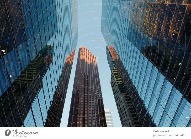 Architecture Business Facade High-rise Esthetic Glass Skyline Financial institution Bank building City Overpopulated Cladding Banking district Business District