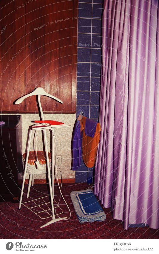 retromantic Clothing Old Retro Retro trash Vintage Drape Satin Bedroom Multicoloured Violet dumb servant Contrast Pillar Hanger Floor cloth Towel Tile Carpet