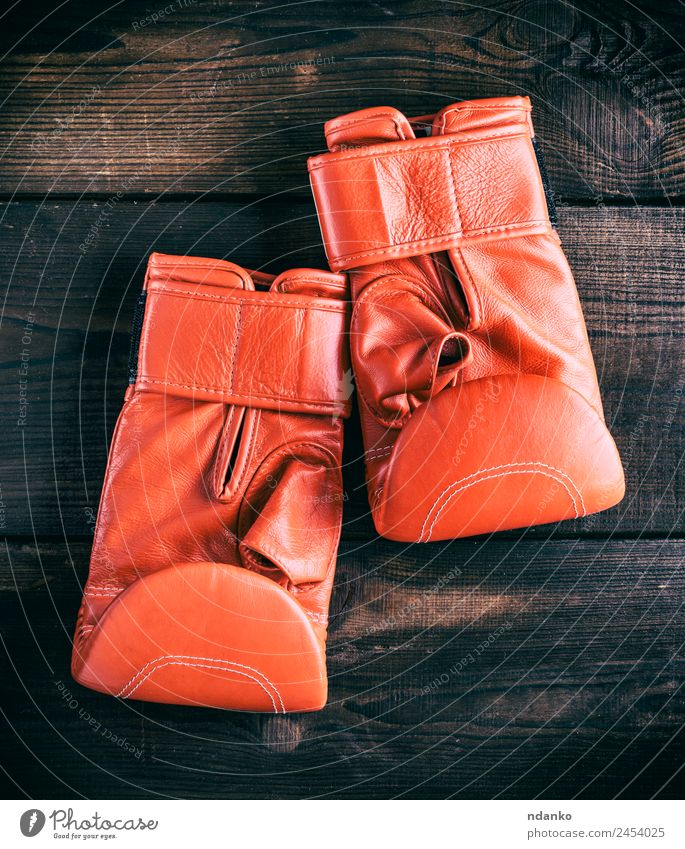 leather gloves for boxing Sports Success Loser Leather Gloves Wood Old Red Idea Boxing background equipment pair Sportswear Boxing glove Consistency