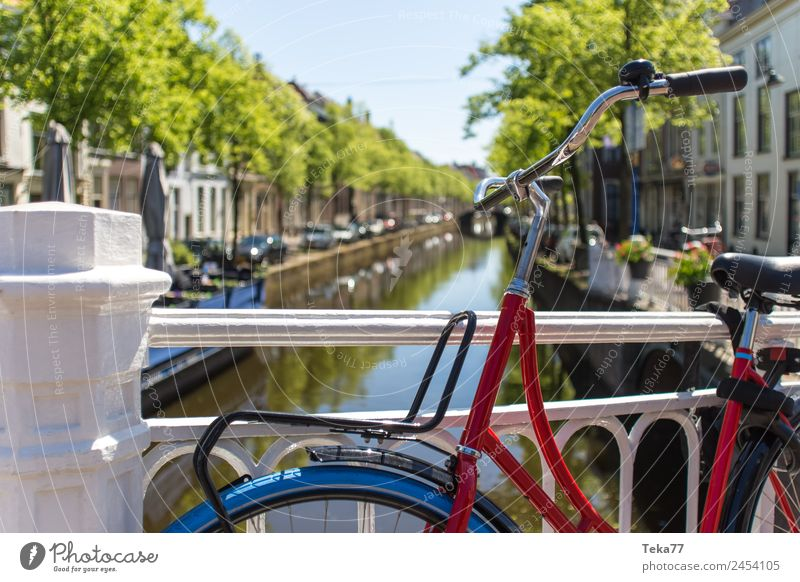 Hollandradl II Transport Means of transport Bicycle Esthetic Netherlands hollandrad Colour photo