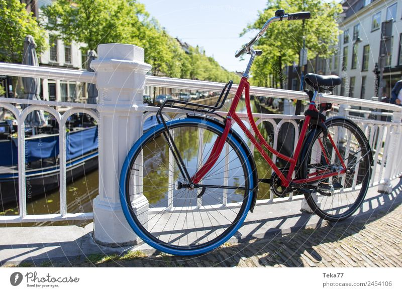 Hollandradl I Transport Means of transport Bicycle Esthetic Netherlands hollandrad Colour photo