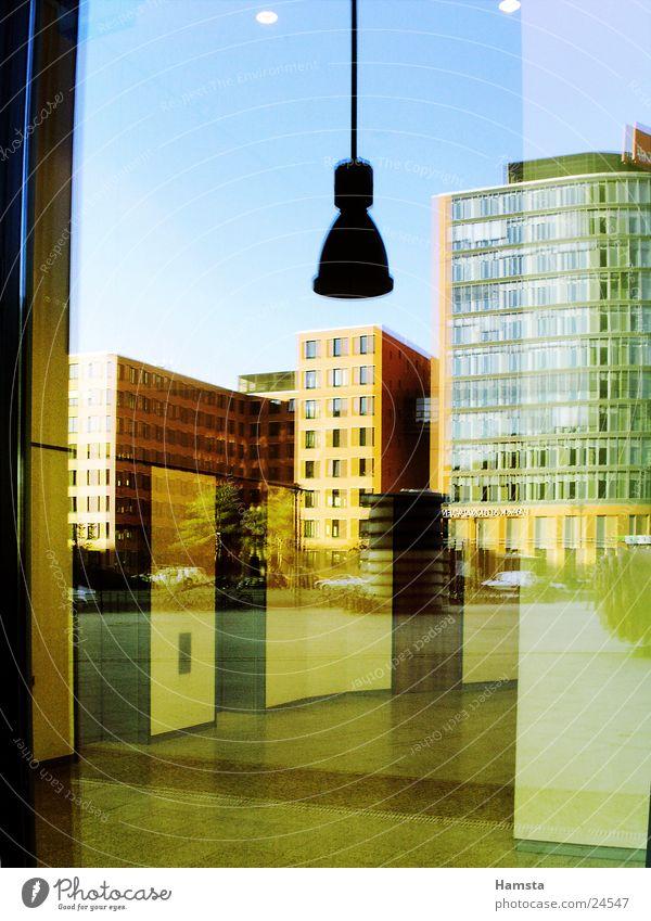 House (Residential Structure) Colour Window Berlin Architecture Graffiti Building Glass Facade Modern Potsdamer Platz
