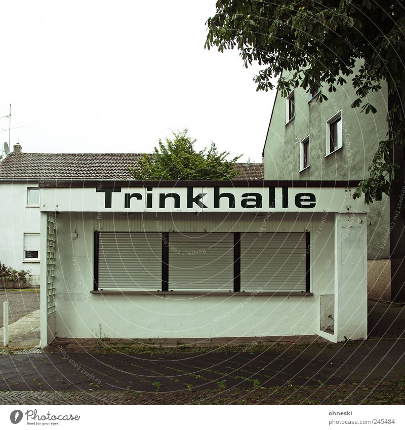 666 - Unfortunately closed Drinking Alcoholic drinks Spirits The Ruhr House (Residential Structure) Manmade structures Building Kiosk Stalls and stands Window