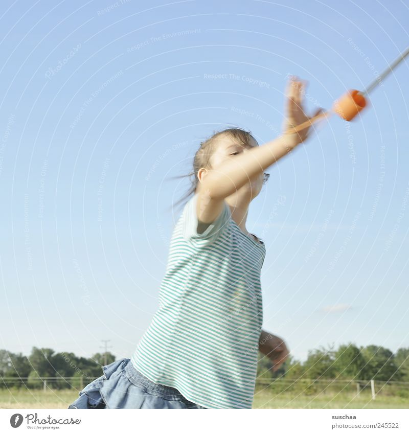 Human being Child Sky Nature Joy Movement Head Infancy Arm Flying Wild Natural Happiness Stop Beautiful weather Enthusiasm
