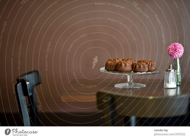 Beautiful Style Food Brown Pink Design Room Nutrition Table Chair Gastronomy Restaurant Café Bar Cake Dessert