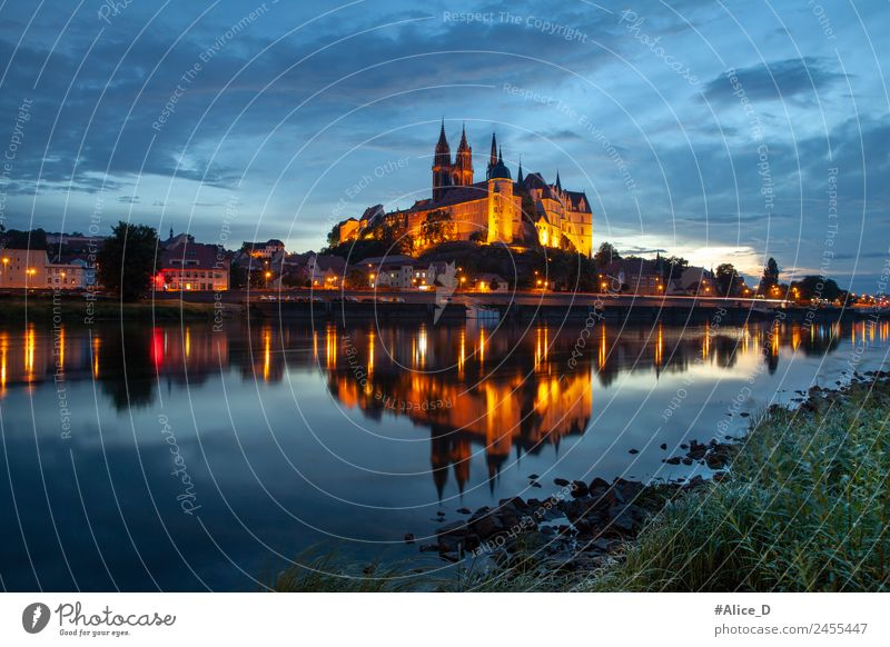 Vacation & Travel Blue Town Water Architecture Germany Church Europe Historic River Tourist Attraction Skyline Landmark Elements City trip Old town