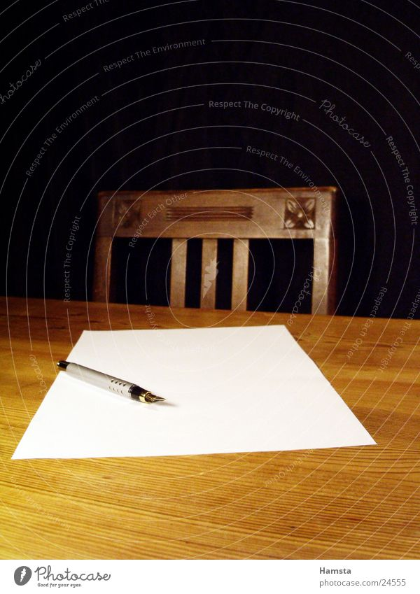 Write again Table Pen Yellow Brown Physics Living or residing Chair Warmth blank sheet Business