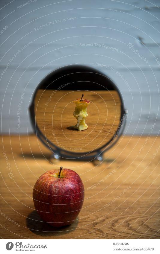 Healthy Eating Food Health care Style Art Exceptional Fruit Design Elegant Future Past Apple Mirror Vegetarian diet Diet