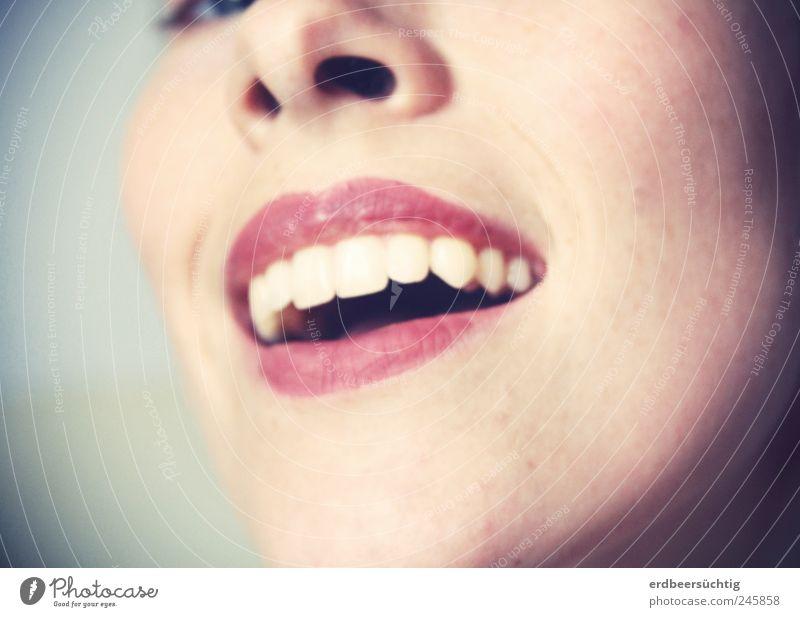 Woman Old Beautiful Red Face Feminine Adults Mouth Elegant Nose Lifestyle Teeth Illuminate Television Smiling Cinema