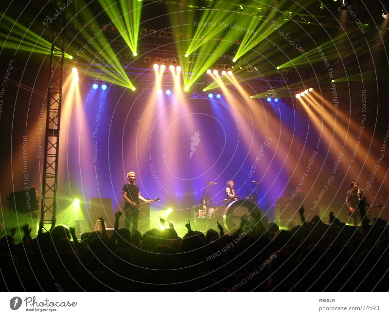 Music Concert String Rock music Guitar Punk Sound Floodlight Musical instrument