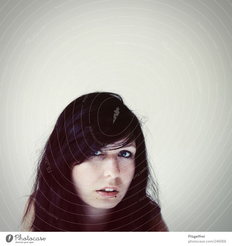 [...] Room for thought Feminine Young woman Youth (Young adults) 1 Human being 18 - 30 years Adults Looking Hair and hairstyles Piercing White Loneliness