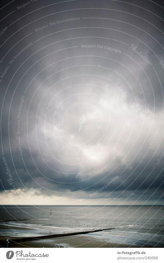Sky Water Beach Vacation & Travel Clouds Dark Gray Landscape Air Coast Waves Weather Wind Horizon Tourism Threat