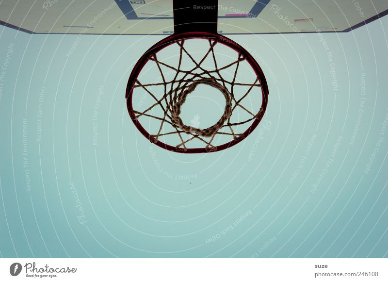 Sky Blue Sports Environment Basketball Basketball basket Sports equipment Cloudless sky