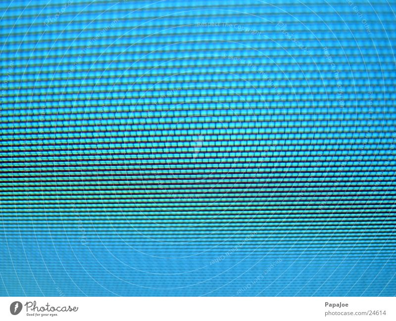 Blue TV set Screen Pixel