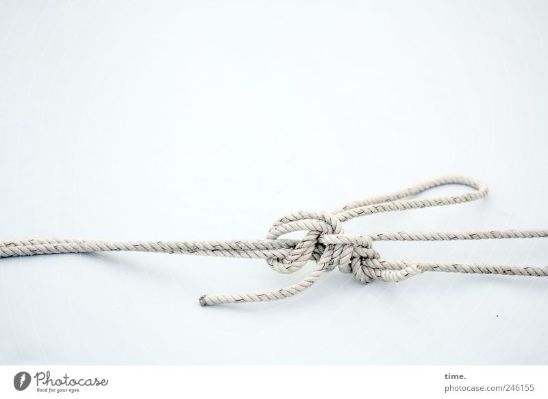 Rope Arrangement Esthetic Connection Bizarre Navigation Tension Textiles Objective Knot Function
