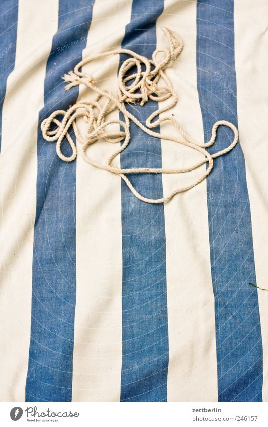 Rope Design Broken Stripe Cloth String Vertical Striped Textiles Knot Rip Torn Loop Hammock
