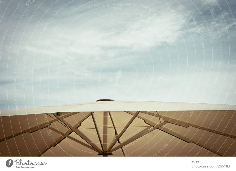 patronage Vacation & Travel Summer Environment Air Sky Clouds Beautiful weather Simple Sunshade Weather protection Material Tense Colour photo Subdued colour