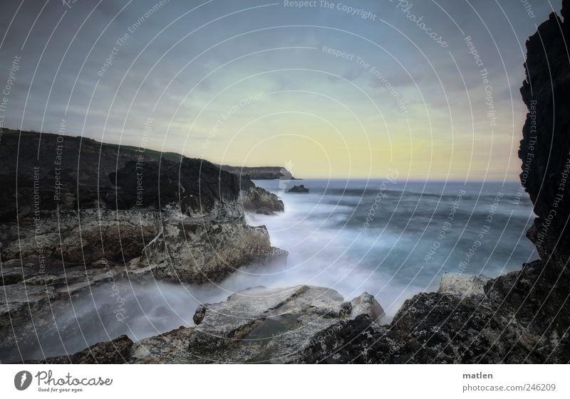 Sky Water Summer Ocean Clouds Landscape Moody Coast Weather Rock Romance Bay Dramatic