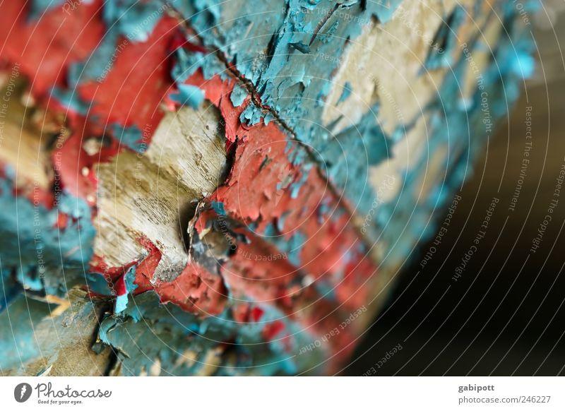 Old Blue Red Wood Brown Time Broken Change Transience Derelict Past Trashy Bizarre Destruction Varnish Weathered