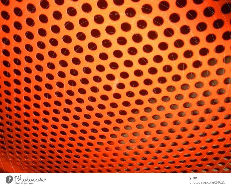 Red Technology Living or residing Club Hollow Grating