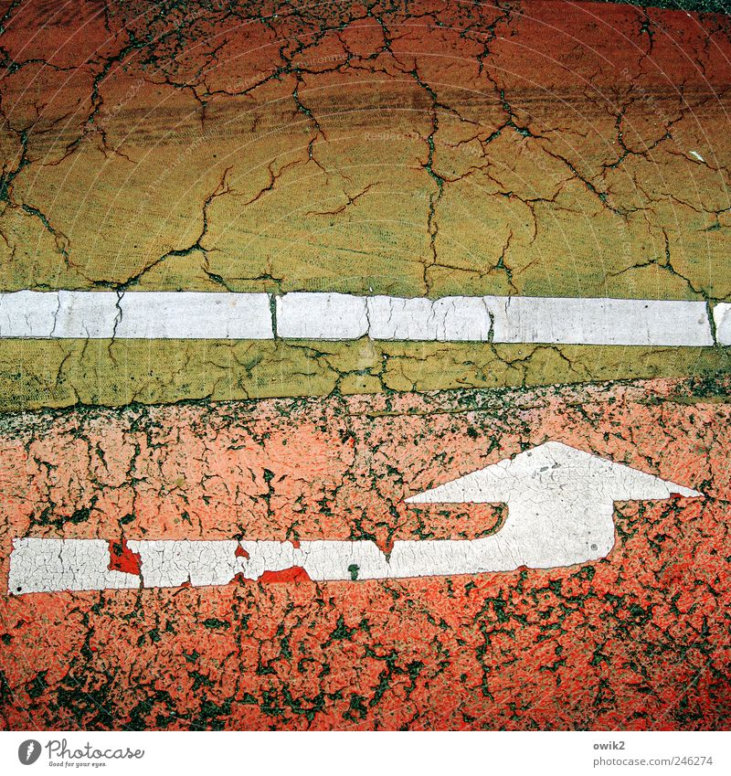 White Green Red Black Street Lanes & trails Movement Dye Brown Dirty Elegant Exceptional Esthetic Driving Target Asphalt