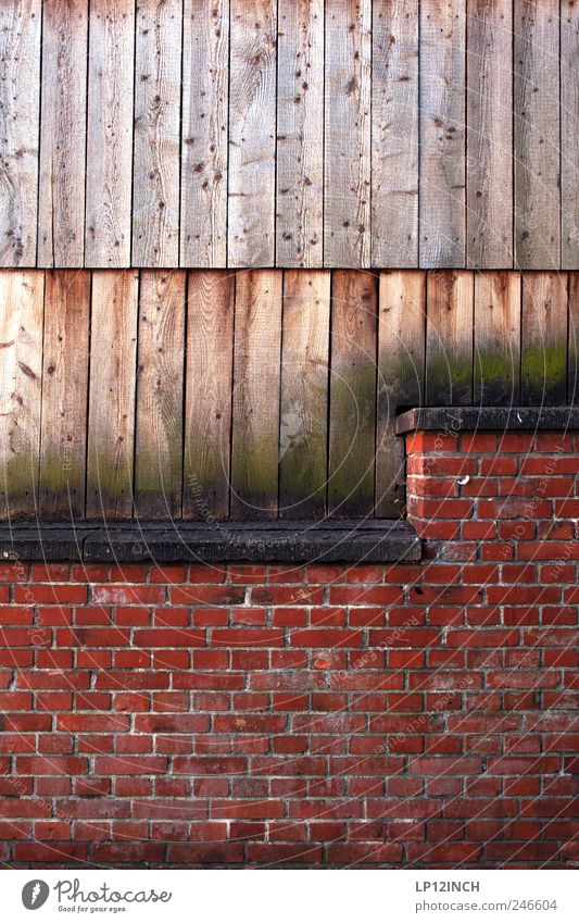 Red Wall (building) Wood Wall (barrier) Brick Seating Old town Town Joist Luneburg