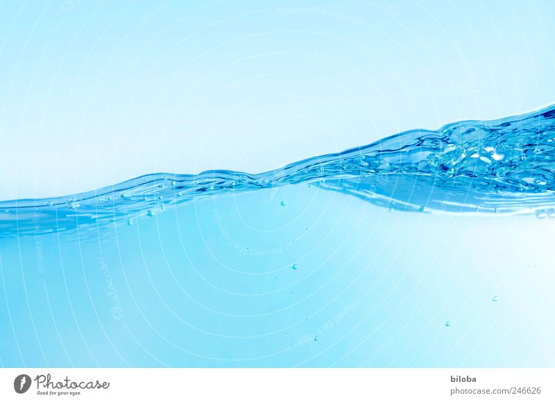 wave play Elements Water Summer Waves Blue Joy Happy Cleanliness Purity Movement Refreshment Dive Background picture Structures and shapes Fluid Liquid Snapshot