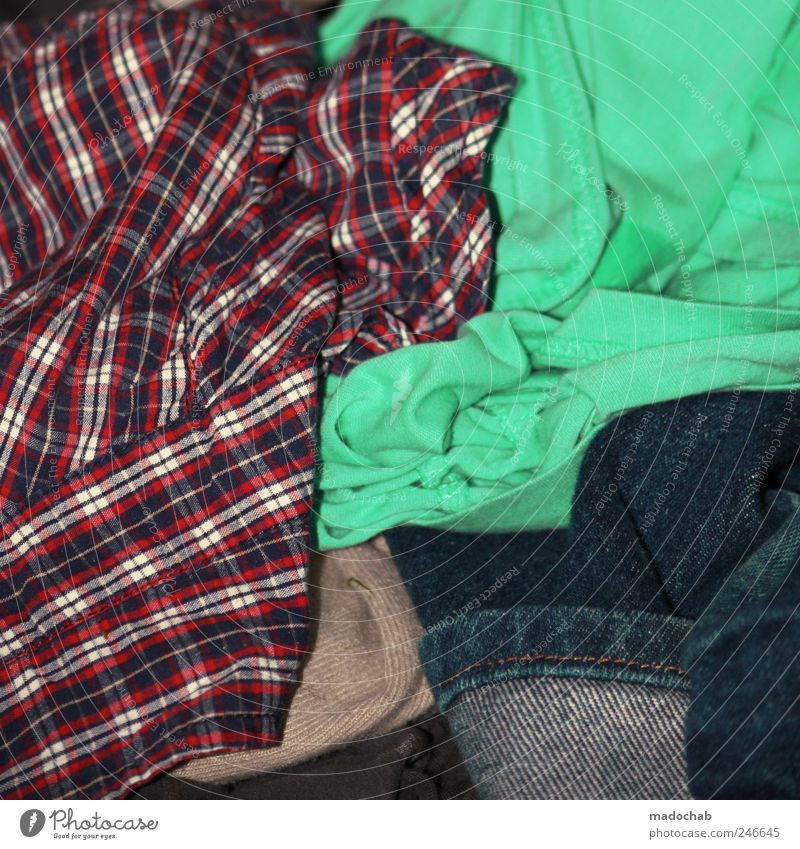 Style Lifestyle Clothing T-shirt Jeans Pants Shirt Chaos Hip & trendy Laundry Untidy