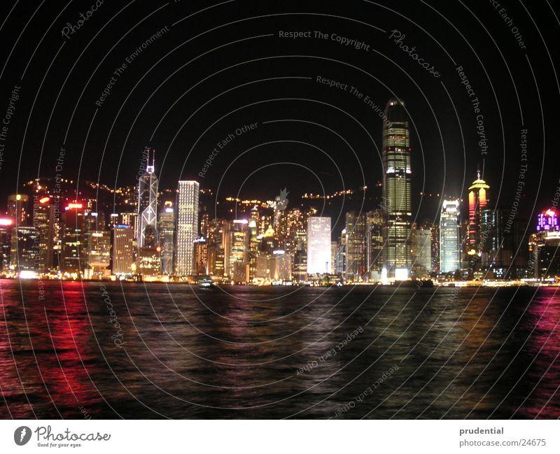 Hong Kong at night Hongkong Night Long exposure Success HK Lighting Water sealing