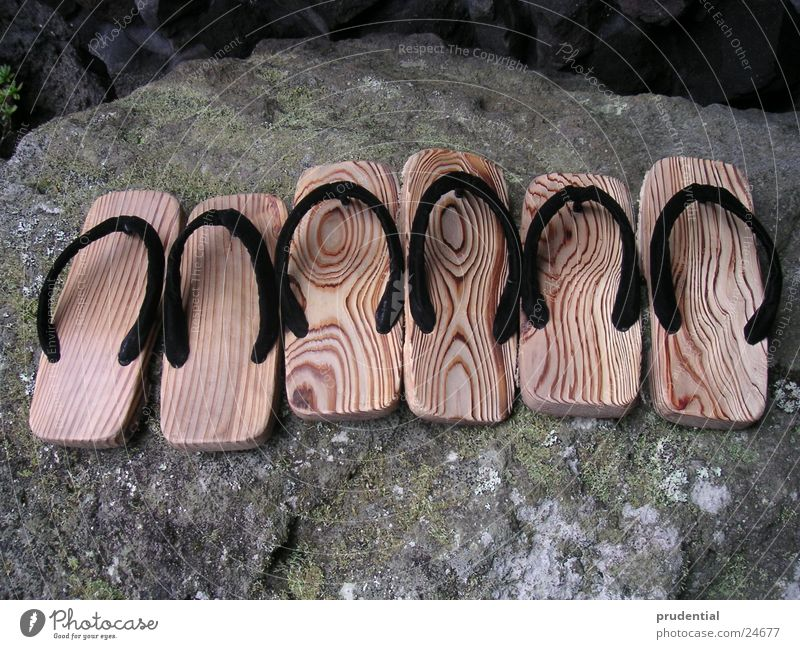 japanese wooden shoes Wooden shoes Hotel Los Angeles Japan