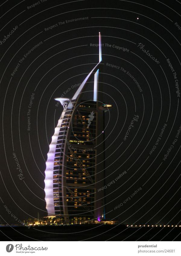 burj al arab, dubai jumeirah beach Dubai Night Burj Al-Arab Hotel tower of arabia
