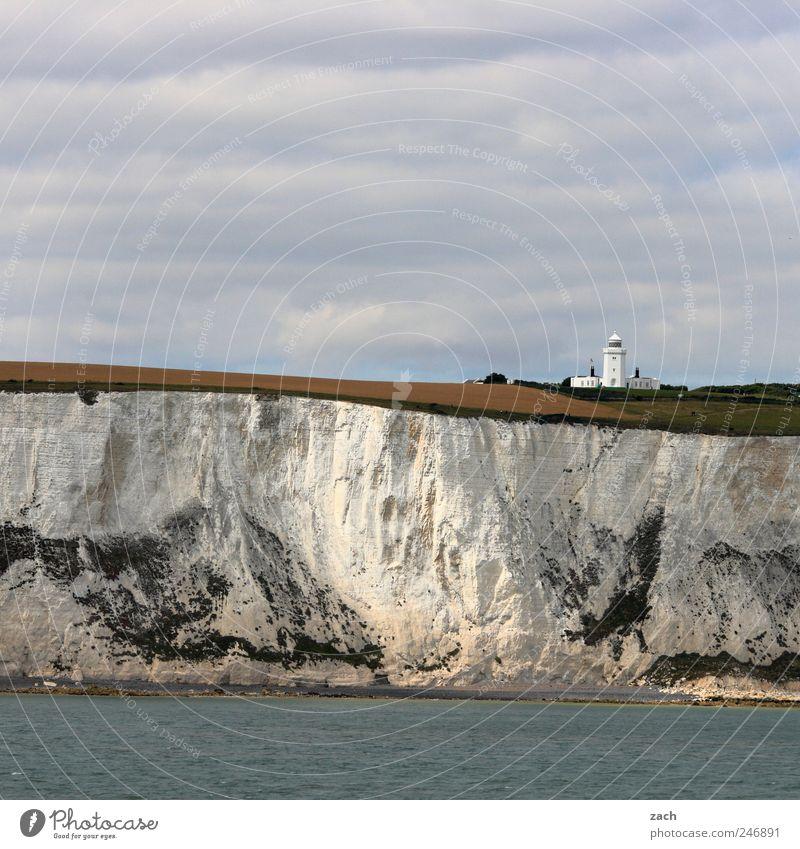 white cliffs Nature Landscape Water Plant Grass Hill Rock Coast North Sea Ocean English Channel White Cliffs Limestone rock Tourist Attraction Stone Sand Dover