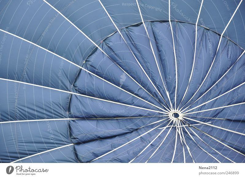 the blue one... Leisure and hobbies Freedom Means of transport Aviation Hot Air Balloon Flying Round Blue White Joy Cloth Star (Symbol) Circle Wind Hover Airy