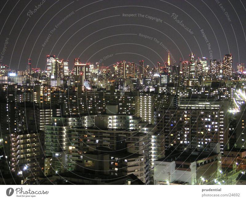 tokyo at night Tokyo Night Long exposure Success Light