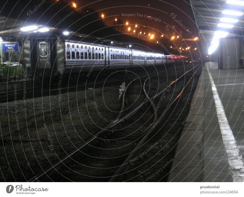 Vacation & Travel Dark Success Railroad Longing Train station Wanderlust Singapore