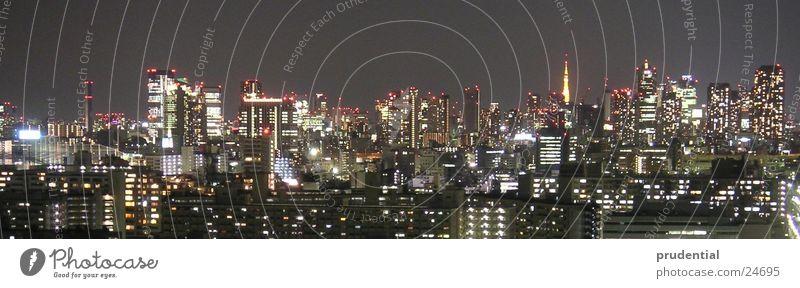tokyo tokyo Night Long exposure Tokyo Dark Success Light