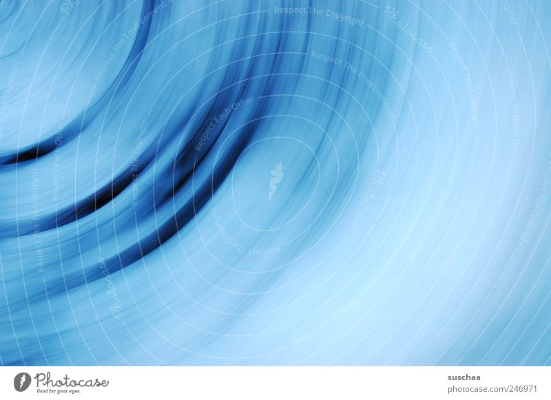 blue .. Stripe Rotate Exceptional Blue Movement Dynamics abstraction Abstract abstracted Structures and shapes Round minimalism blurred speed Colour photo