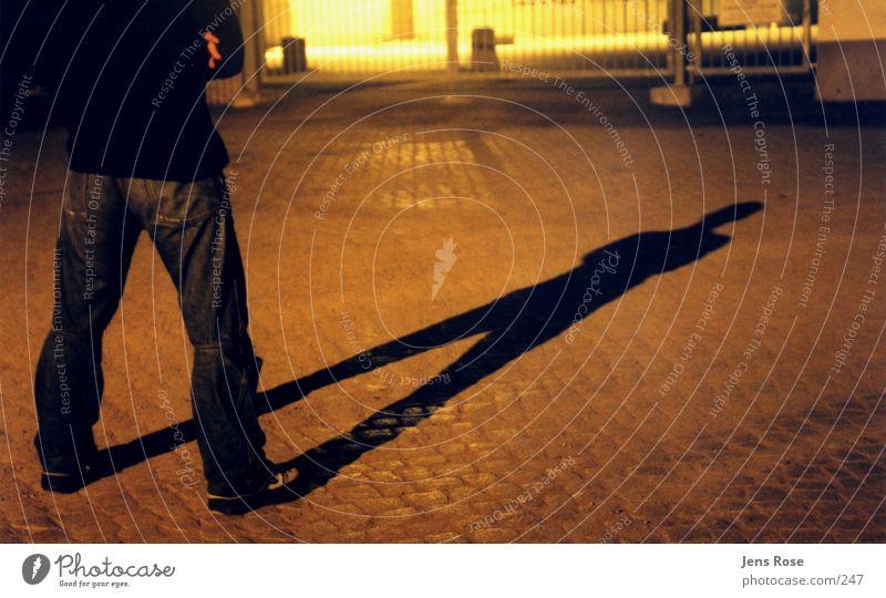 shadow play Night Cowboy Human being Shadow